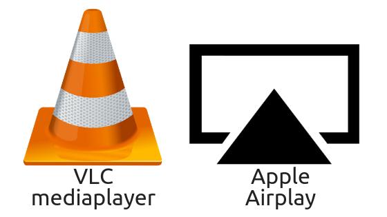 Airplay ondersteuning voor Vlc mediaplayer